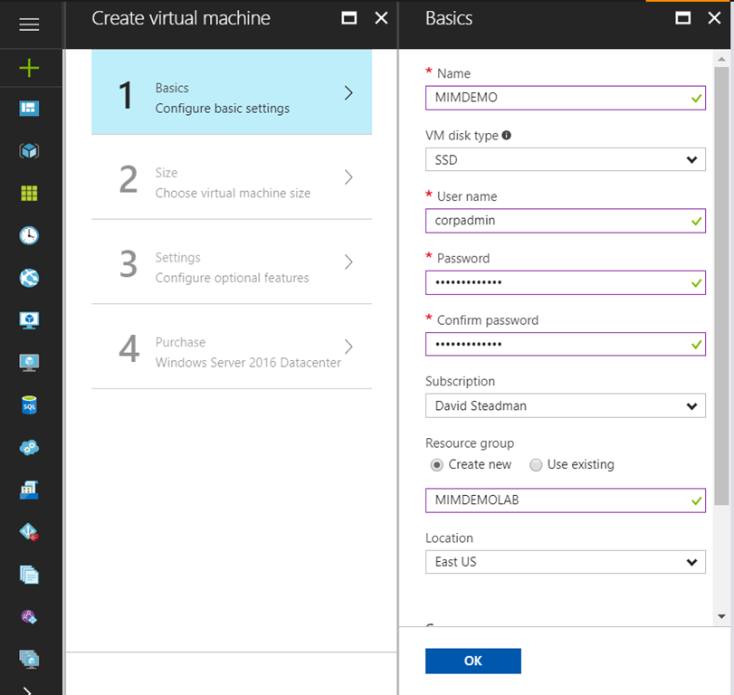 Adventures of Moving MIM lab to Azure using Nested